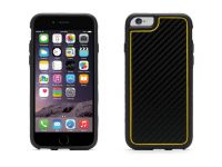 Griffin Identity Graphite, iPhone 6 Carbon Case, Zwart Geel - 18560