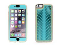 Griffin Identity Performance, iPhone 6 Case, Turquoise / Grijs - 18563