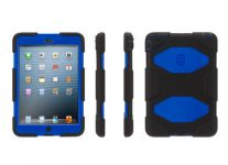 Griffin Survivor iPad mini Case, Zwart Blauw - 18662