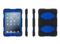 Zoom in op Griffin Survivor iPad mini Case, Zwart Blauw