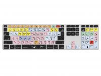 Zoom in op Pro Tools QWERTY Keyboard Cover voor Apple Ultra-Thin Keyboard met Numeriek Toetsenblok