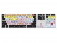 Pro Tools QWERTY Keyboard Cover voor Apple Ultra-Thin Keyboard met Numeriek Toetsenblok - 18754