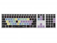 Final Cut Pro X QWERTY Keyboard Cover voor Apple Ultra-Thin Keyboard met Numeriek Toetsenblok - 18755