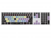 Final Cut Pro X QWERTY Keyboard Cover voor Apple Ultra-Thin Keyboard met Numeriek Toetsenblok - 18755