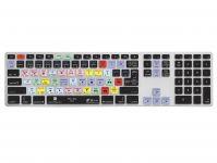 Zoom in op Premiere Pro QWERTY Keyboard Cover voor Apple Ultra-Thin Keyboard met Numeriek Toetsenblok