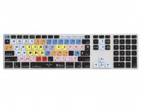 Zoom in op Avid Media QWERTY Keyboard Cover voor Apple Ultra-Thin Keyboard met Numeriek Toetsenblok