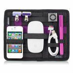 Cocoon Grid-It Organizer voor iPad Tassen, GCA7BK, Zwart / Lila - 18777
