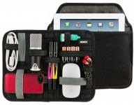 Zoom in op Cocoon CPG46BK Grid-It Pocket Organizer 10 voor iPad Air, 4 - 1 en 10 inch Tablets, Zwart / Grijs
