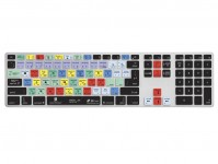 Photoshop CC QWERTY Keyboard Cover voor Apple Ultra-Thin Keyboard met Num Pad - 18948