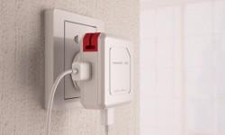 allocacoc PowerUSB Hub mit 4x USB, 230V Schuko + DE TravelPlug - 18997