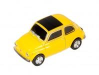 Zoom in op AutoDrive, USB 2 Flash Drive, Fiat 500, 16 GB, geel