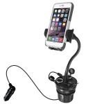 Macally MCUPPOWER Autohouder mit 21 W oplader voor iPhone & Smartphones - 19100