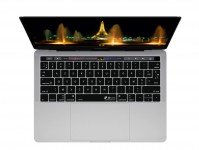 Franse AZERTY ISO Keyboard Cover voor MacBook Pro met Touch Bar (Late 2016) - 19104