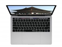 Zoom in op Koreanische QWERTY ISO Keyboard Cover voor MacBook Pro met Touch Bar (Late 2016)