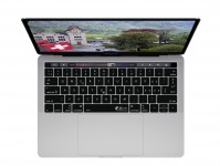 Schweizerische QWERTZ ISO Keyboard Cover voor MacBook Pro met Touch Bar (Late 2016) - 19113