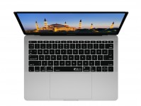 Zoom in op Turkse QWERTY ISO Keyboard Cover voor MacBook Pro met Touch Bar (Late 2016)