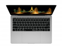 Zoom in op Duitse QWERTZ Keyboard Cover voor MacBook Pro zonder Touch Bar (Late 2016)