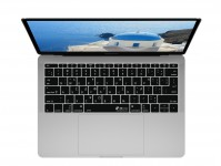 Zoom in op Griekse QWERTY Keyboard Cover voor MacBook Pro zonder Touch Bar (Late 2016)
