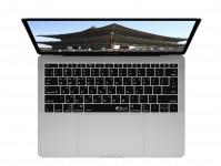 Zoom in op Koreaanse QWERTY Keyboard Cover voor MacBook Pro zonder Touch Bar (Late 2016)