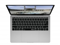 Zoom in op Persische (Farsi) QWERTY Keyboard Cover voor MacBook Pro zonder Touch Bar (Late 2016)