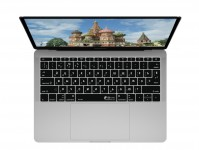 Zoom in op Russische QWERTY Keyboard Cover voor MacBook Pro zonder Touch Bar (Late 2016)