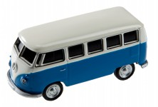 Zoom in op AutoDrive, USB 2 Flash Drive, VW Bus T1 Bulli, 16 GB, blauw