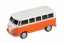 Zoom in op AutoDrive, USB 2 Flash Drive, VW Bus T1 Bulli, 16 GB, oranje