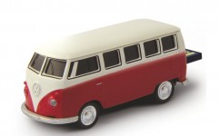 AutoDrive, USB 2 Flash Drive, VW Bus T1 Bulli, 16 GB, rood - 19132
