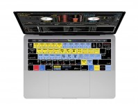 Zoom in op Serato DJ / Scratch Live QWERTY Keyboard Cover voor  MacBook Pro met Touch Bar (Late 2016)