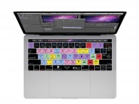 Premiere Pro QWERTY Keyboard Cover voor  MacBook Pro met Touch Bar (Late 2016) - 19153