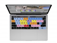 Zoom in op Avid Media QWERTY Keyboard Cover voor MacBook Pro met Touch Bar (Late 2016)