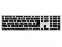 Zoom in op Russische QWERTY ISO Keyboard Cover voor Apple Magic Keyboard Alu Bluetooth zonder numeriek toetsenblok