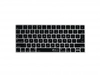 Hebreeuwse QWERTY ISO Keyboard Cover voor Apple Magic Keyboard Alu Bluetooth zonder numeriek toetsenblok - 19183