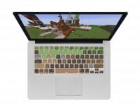 Minecraft QWERTY Keyboard Cover voor MacBook, Air & Pro Toetsenbord - 19191