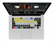 Zoom in op Serato Scratch LIVE/ITCH QWERTY Keyboard Cover voor MacBook, Air & Pro Toetsenbord