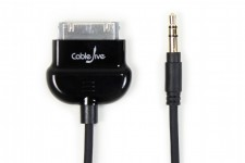 Zoom in op CableJive LineOut Pro Dock Kabel, zwart